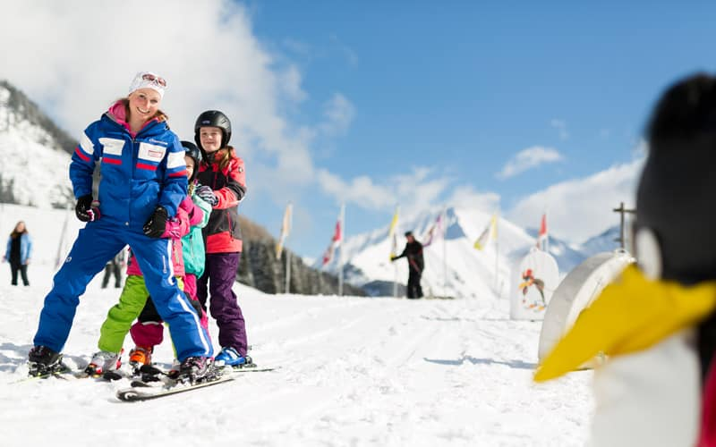 Familienurlaub im Winter in Berwang